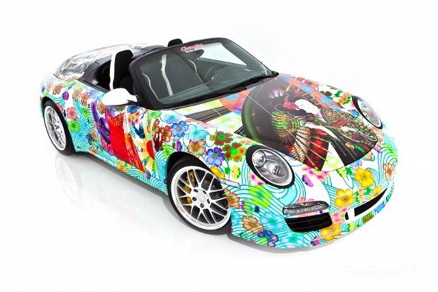 Artist Miguel Paredes Porsche 911 Art Car Boasts Extreme
