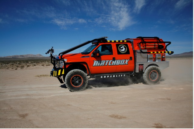 Superlift S Matchbox F 350 Brush Truck Wins Ford Product