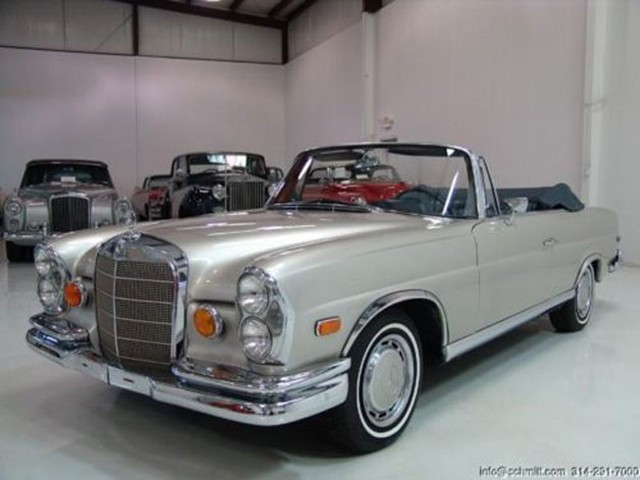 1965 Mercedes Benz 220se Convertible From Quot The Hangover