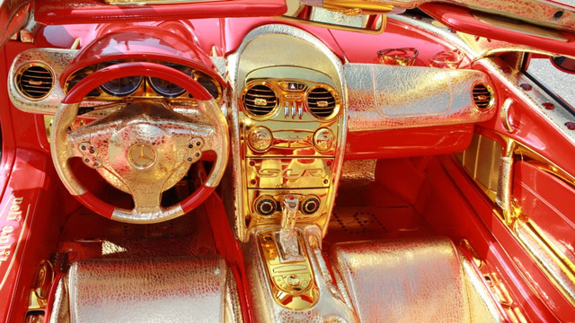 For $11 Million, This Gaudy Golden Supercar Can Be Yours ...