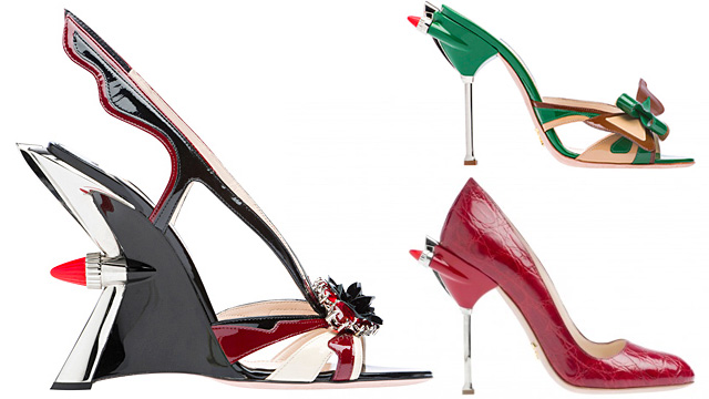 Range Rover Parts >> 2012 Prada Shoe Collection Inspired By American Classic Cars » AutoGuide.com News