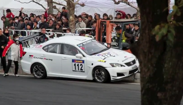 How Not to Drift a Lexus IS-F [Video] » AutoGuide.com News