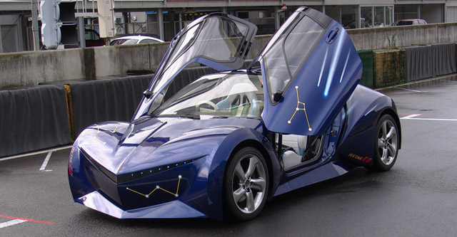 Officially Toyota Will Tell You That The Future Is In Hybrid Trains But Unofficially Well They Ve Built An Electric Sports Car Which Was Revealed