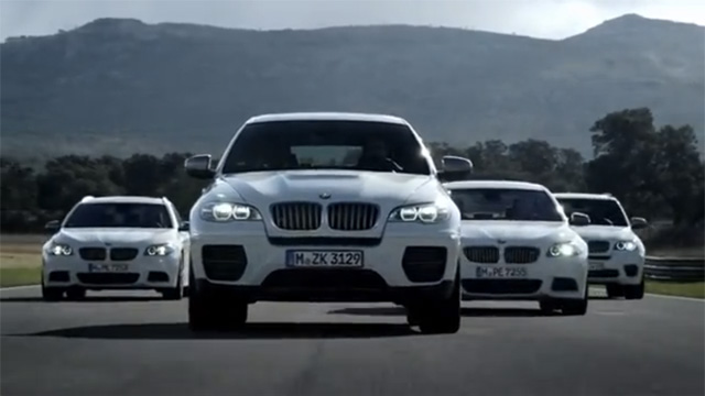 BMW M Performance Diesel Models Show Off Video  AutoGuidecom News