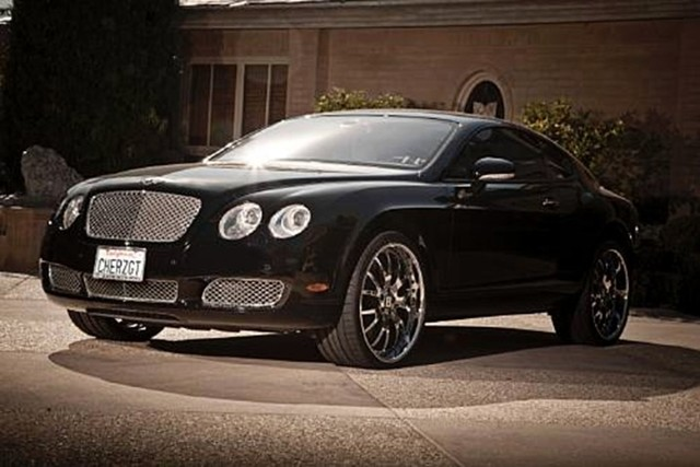 chers  bentley continental gt  hit auction block autoguidecom news