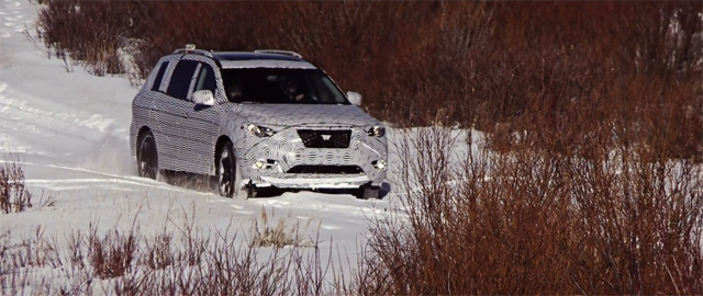nissan pathfinder concept  cold weather testing video autoguidecom news