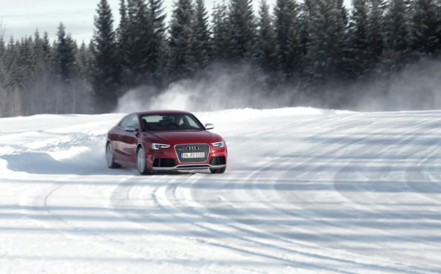 Volkswagen Tiguan Commercial >> 2013 Audi RS5 Exhaust Note in Exhilarating Video
