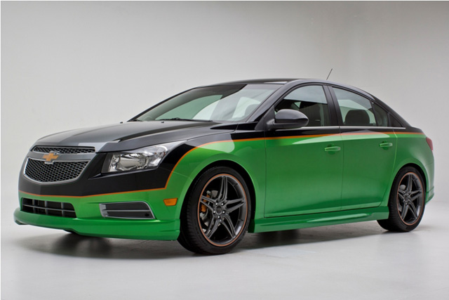 Chip Foose Chevy Cruze Being Sold For Charity 187 Autoguide