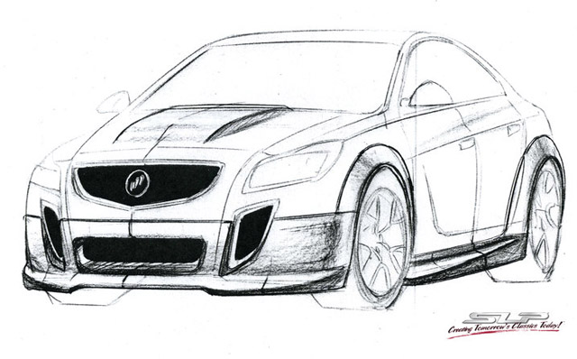 buick grand national to return as regal gnx by slp