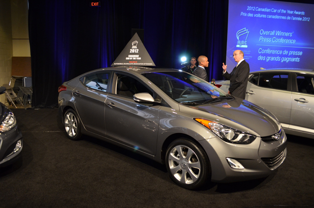 2012 Hyundai Elantra Named Canadian Car Of The Year