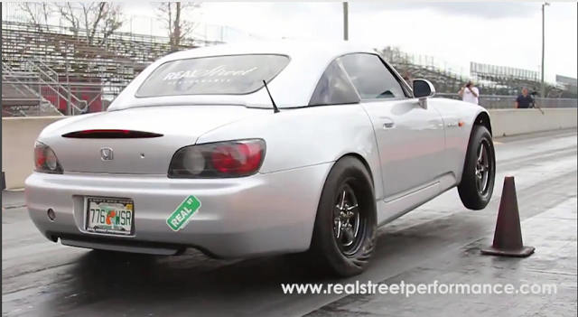 Watch a Honda S2000 Pop A Wheelie [Video] » AutoGuide.com News