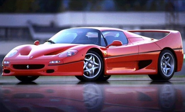 Ferrari F50 At Auction For 65 000 Repairs Required 187 Autoguide Com News