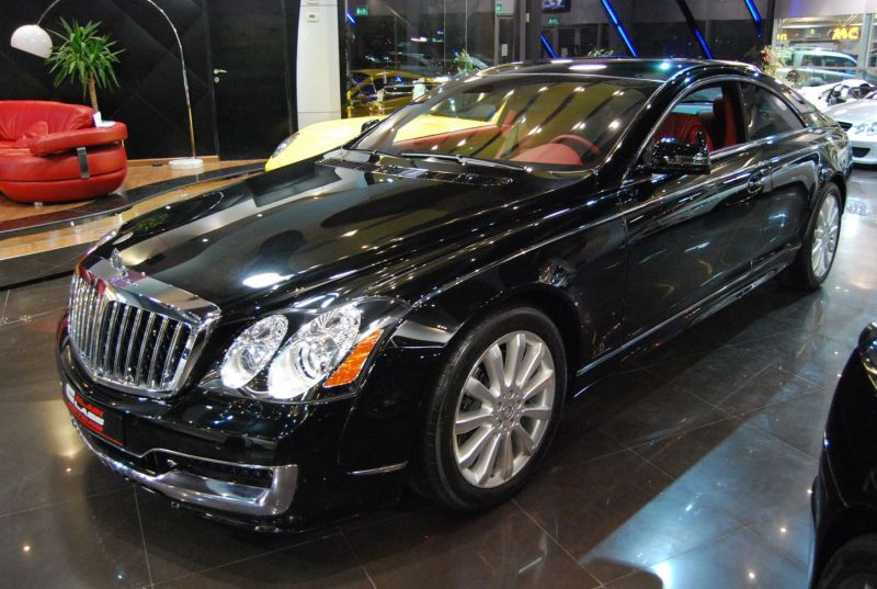 Maybach Xenatec Coupe On Sale In Dubai 187 Autoguide Com News