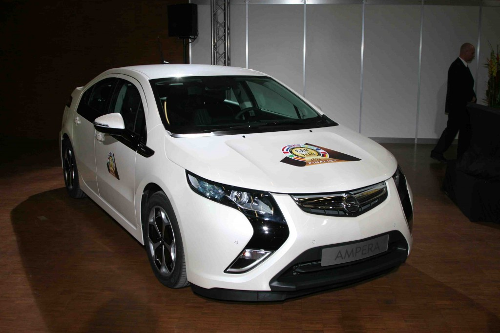 Shock! Chevy Volt Wins European Car of the Year: 2012 Geneva Motor Show » AutoGuide.com News
