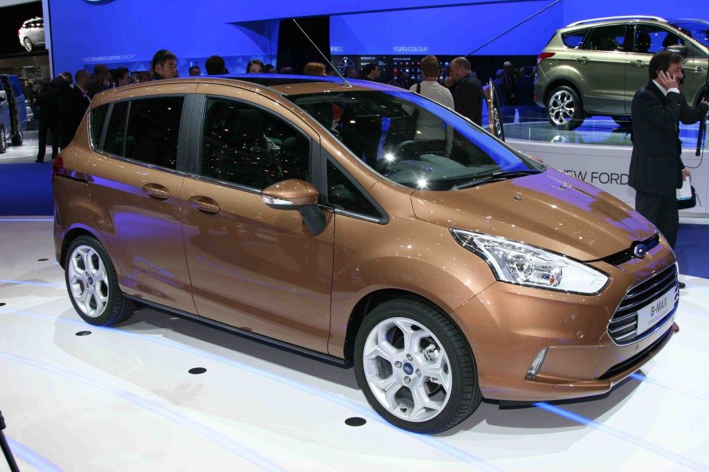 Best Jeep Accessories >> 2013 Ford B-Max is a Fiesta-Based Minivan: 2012 Geneva ...