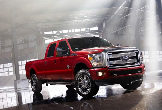 2013 Ford Super Duty Revealed With Pricey Platinum Edition