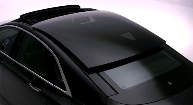 Sliding Glass Roof Lincoln MKZ 2015
