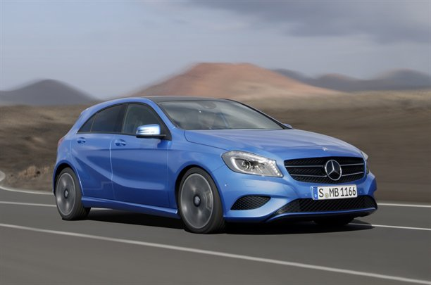 mercedes benz a class fully revealed 2012 geneva motor show news. Black Bedroom Furniture Sets. Home Design Ideas