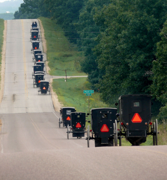 Amish Exercise Religious Freedom Object To Orange