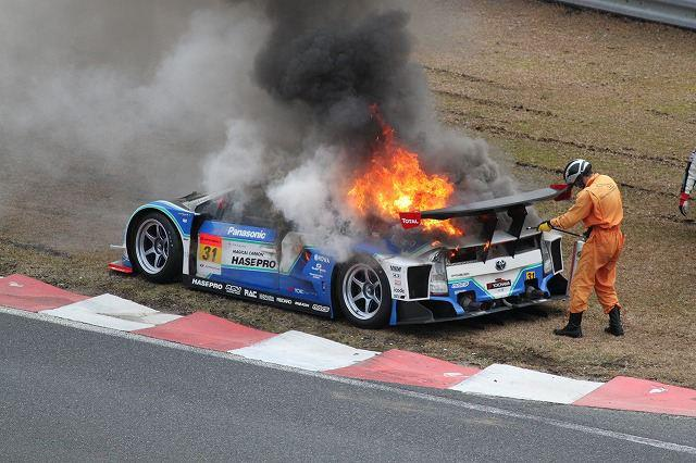 Toyota Prius Gt300 Race Car Catches Fire During Testing Video 187 Autoguide Com News