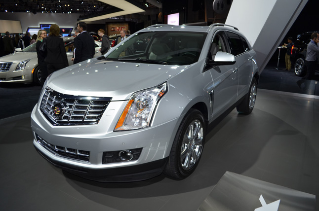 2013 Cadillac SRX Features CUE Infotainment System: 2012 New