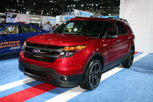 2013 Ford Explorer Sport Is The Sho Of Crossovers 2012