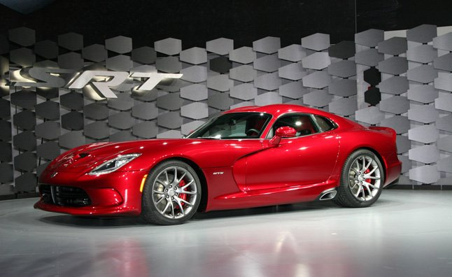 2013 Srt Viper Is Still Mean Now Beautiful Too 2012 Ny Auto Show