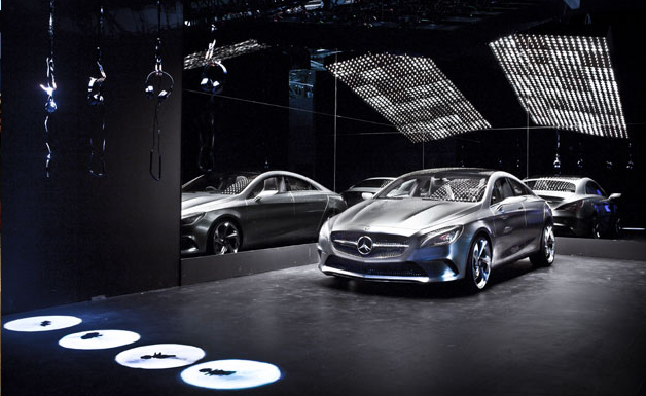 Mercedes benz clc concept revealed in los angeles video for Mercedes benz parts los angeles