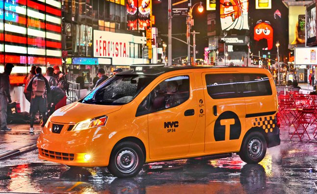 Nissan Reveals Production Spec Nv200 Yellow Cab 2012 New