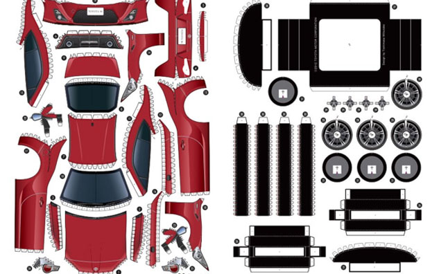 Build Your Own Toyota Gt 86 For Free on nascar templates 2012