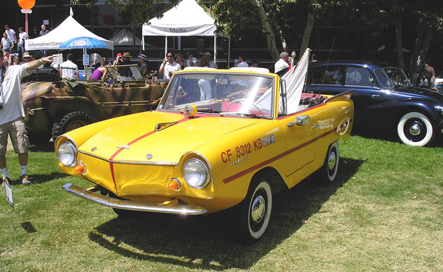 german amphicar for sale in maryland handles land and lake news. Black Bedroom Furniture Sets. Home Design Ideas