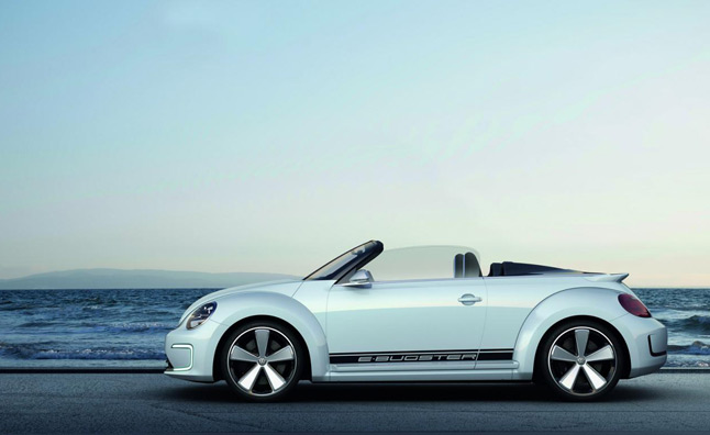 Volkswagen E Bugster Speedster Revealed Ahead Of Beijing