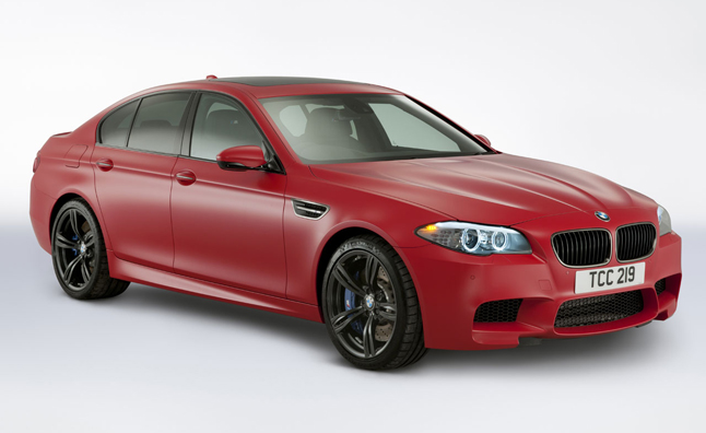 Bmw M Performance Edition M5 M3 Revealed In Matte Red