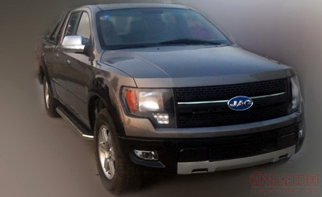 Chinese F 150 Ripoff Truck Kept From Production By Ford