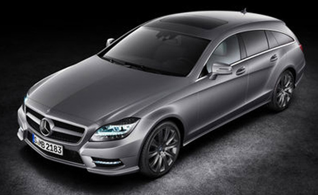 2013 mercedes cls shooting brake leaked news for Mercedes benz cls station wagon