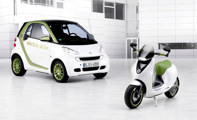 , we learned that Smart plans to bring its escooter to market in 2014