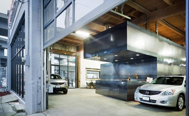 Unconventional nissan dealership in seattle shuttered for Mercedes benz dealership seattle