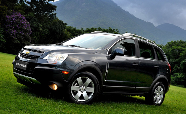 2012 Chevrolet Captiva Sport Recalled Over Faulty Parking