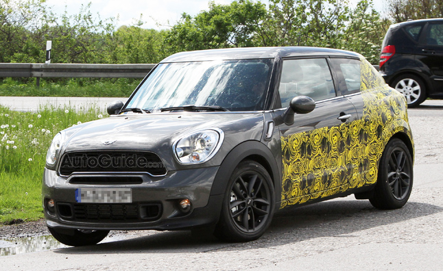 mini countryman coupe paceman specs revealed news. Black Bedroom Furniture Sets. Home Design Ideas