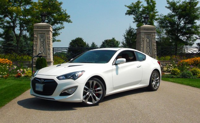 Five Point Inspection 2013 Hyundai Genesis Coupe 3 8