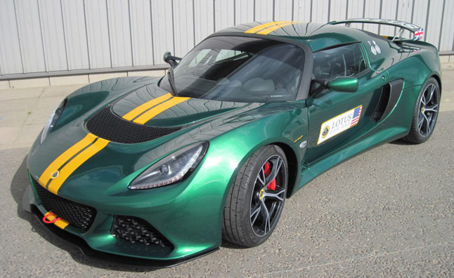 lotus exige v6 cup race car heading to america news. Black Bedroom Furniture Sets. Home Design Ideas