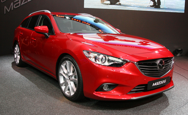 mazda mx 6 forum 2014 mazda6 wagon revealed paris motor show. Black Bedroom Furniture Sets. Home Design Ideas
