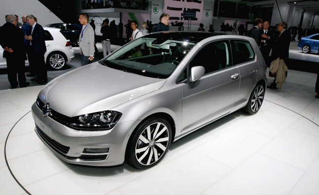 2014 Volkswagen Golf Sheds Weight for Paris