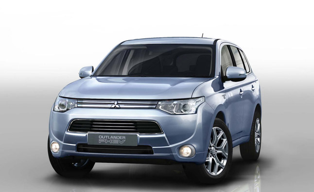 2014 Mitsubishi Outlander Phev Detailed With Electric Awd