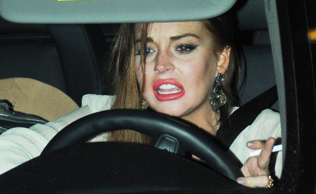 Lindsay Honda Used Cars >> Lindsay Lohan Offered Free Driving Lessons by Goodyear ...