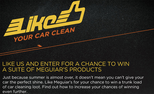 how to get sponsored by meguiars