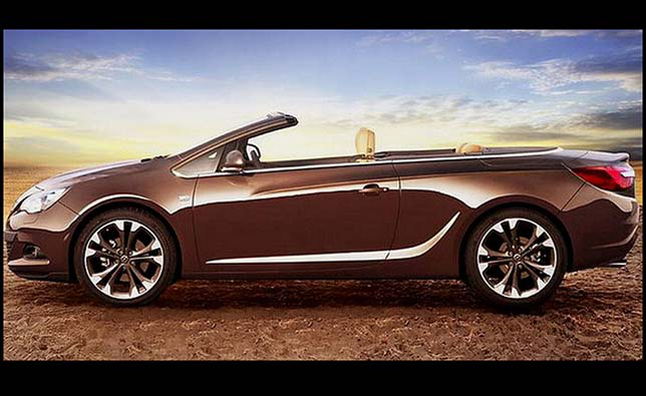 buick convertible teased by gm 39 s opel brand news. Black Bedroom Furniture Sets. Home Design Ideas
