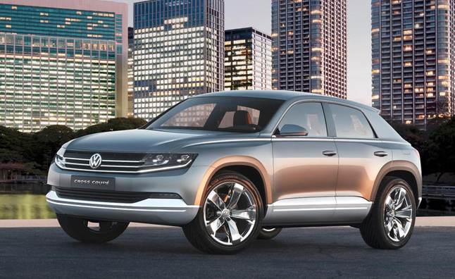 Volkswagen Planning Several New Crossovers 187 Autoguide Com