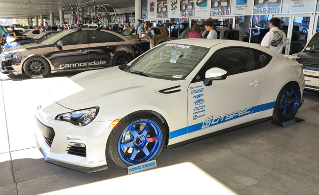 Top 10 Custom Scion Fr S And Subaru Brz Cars 2012 Sema Show