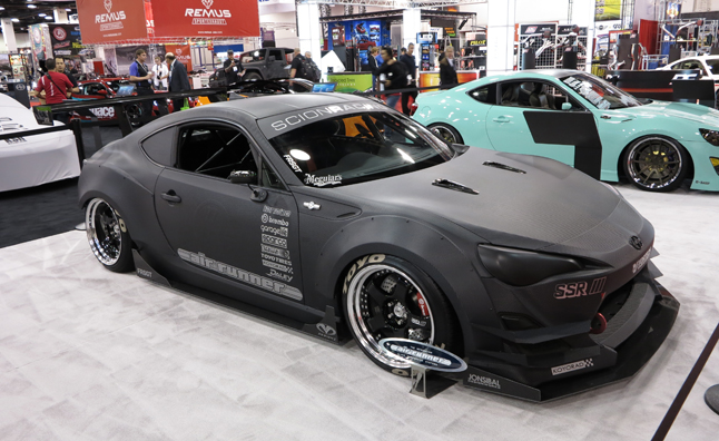 Top 10 custom scion fr s and subaru brz cars 2012 sema show autoguide com news